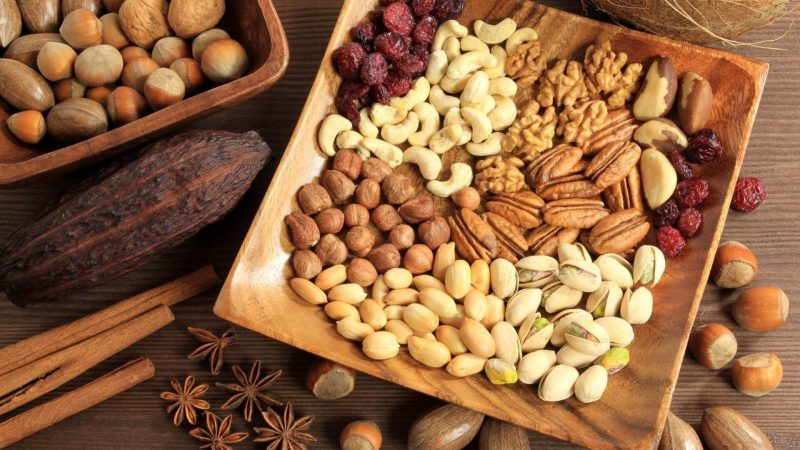 Confections With Fruits and Nuts For A Sweet Tu b'Shevat